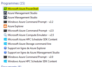 Azure PowerShell Program